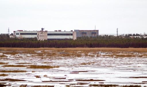 La base de lancement de missiles de Nionoska, le 9 novembre 2011 dans la région d'Arkhangelsk, dans le Grand Nord russe © AFP/Archives -