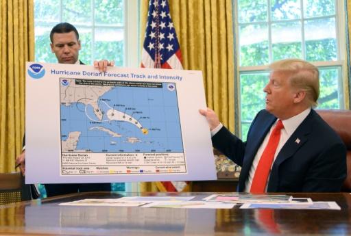 ouragan dorien services meteo attaques trump