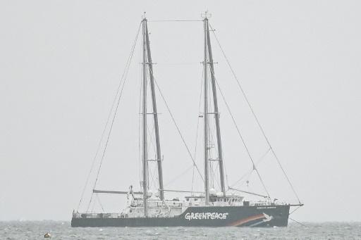 greenpeace bateau pologne