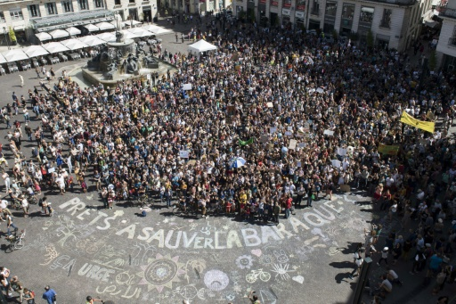Nantes manifestation pour le climat