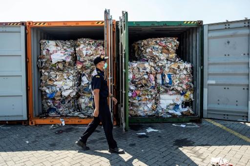 indonésie déchets