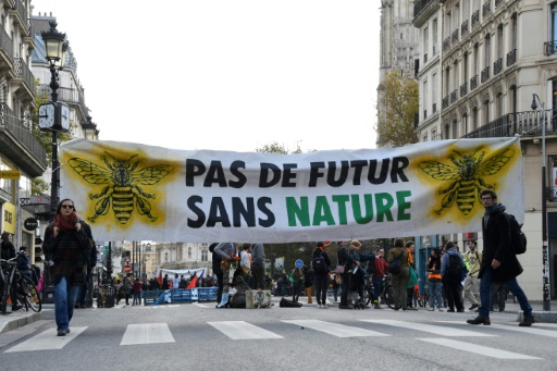 extinction rebellion paris