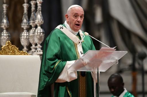 pape françois amazonie defigurer