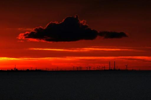 nuage rouge