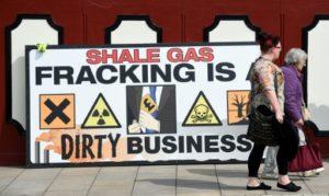 gaz de schiste fracturation royaume uni