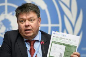 secrétaire général de l'Organisation météorologique mondiale