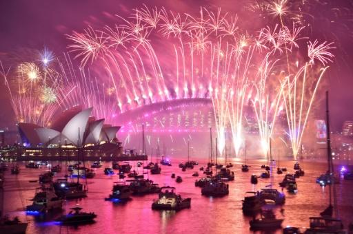 nouvel an feu d'articie sydney