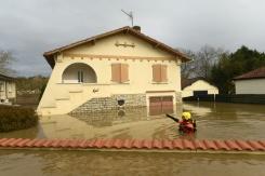 pompier inondation