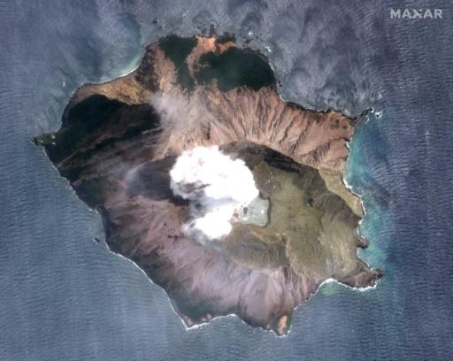 volcan sur White Island