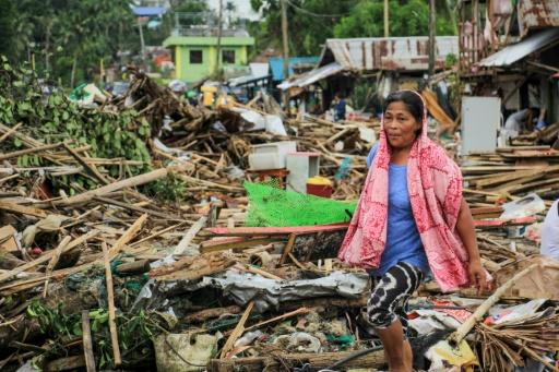 Philippines typhon