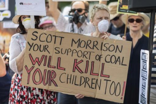 australie charbon feux climat
