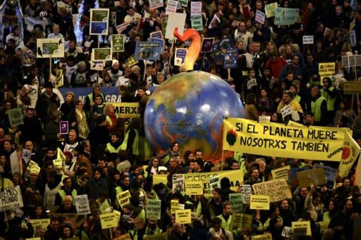 Manifestation contre le réchauffement climatique