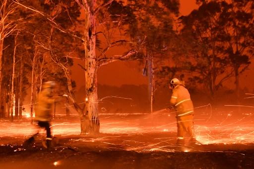 incendies australie plages