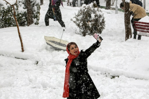 neige iran
