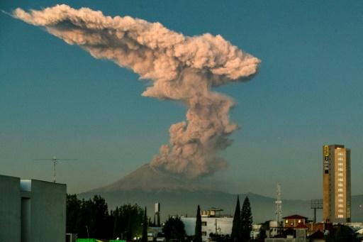 volcan mexique