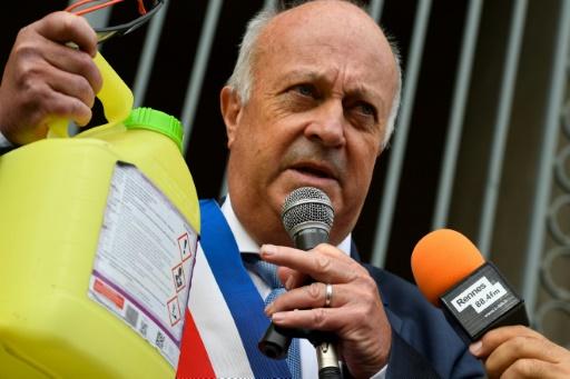 Daniel Cueff, maire de Langouët