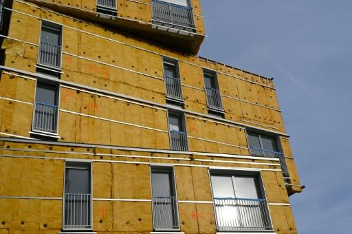 Isolation de la façade d'un immeuble