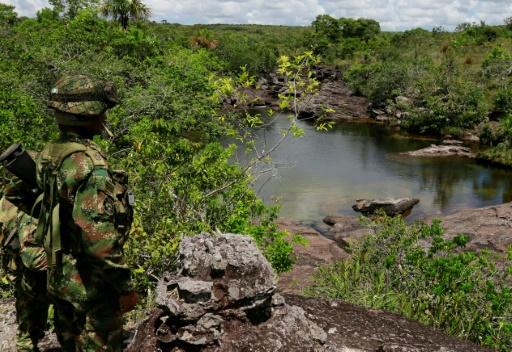 soldat colombien