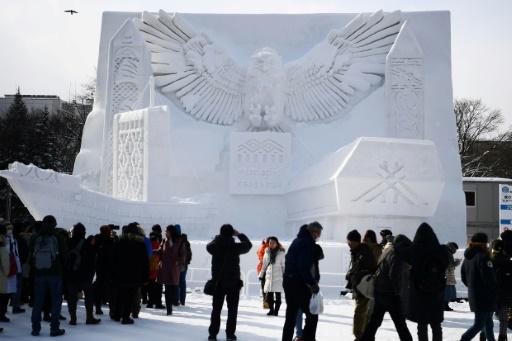 sapporo festival neige