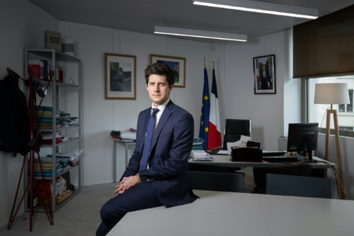 ministre de la Ville, Julien Denormandie,