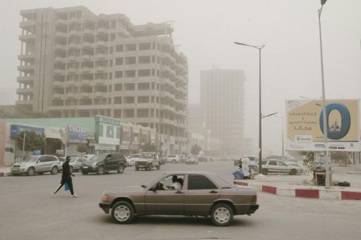 Tempête de sable à Nouakchott