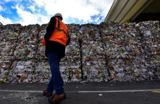 centre de tri de déchets recyclables,