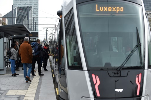 tramway luxembourg