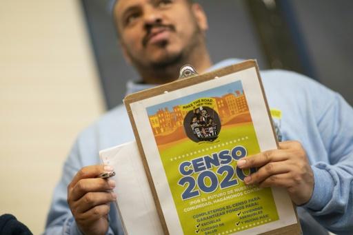 recensement usa 2020 coronavirus