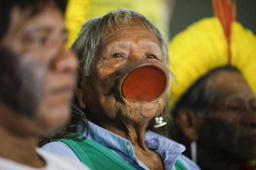 raoni pandemie amazonie