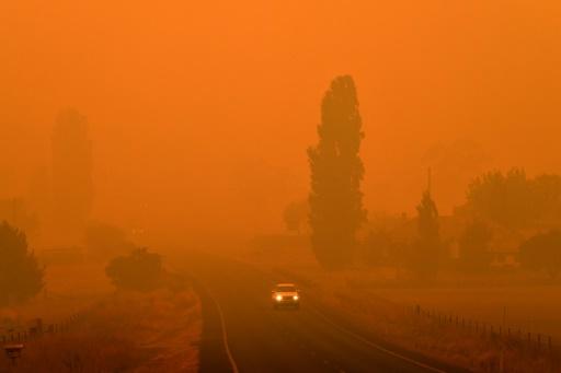 australie feu fumée tuer pollution