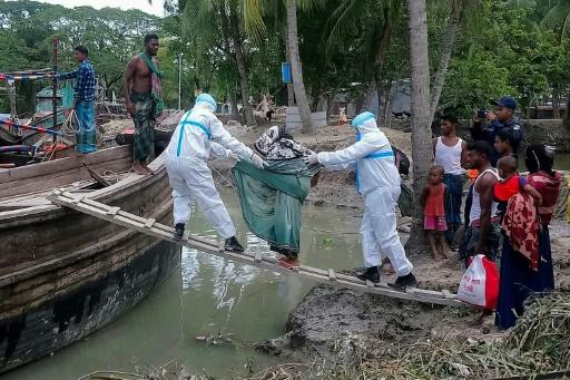 inde bangladesh cyclone coid cornavirus
