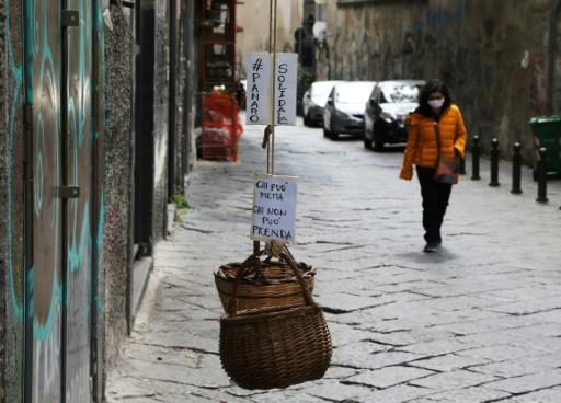 italie pauvrete pauvreté coronavirusq covid-19 pandemie virus