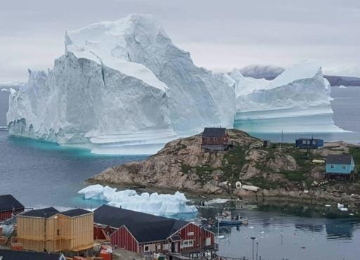 arctique vague de chaleur inquoetude