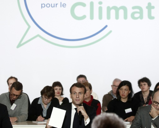convention climat macron