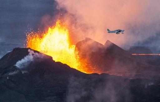 volcan éruption islande