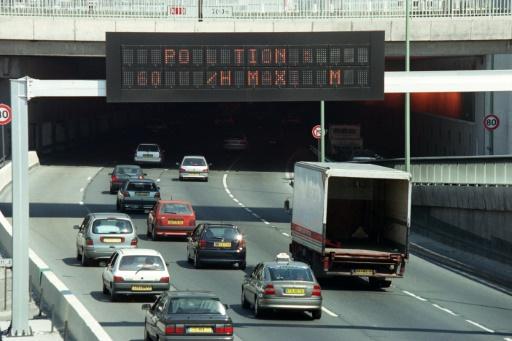 pollution trafic