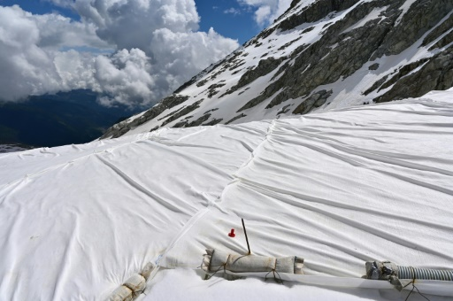 glacier bâches