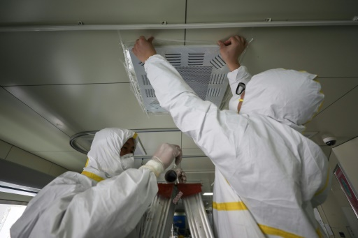 coronavirus transmis air
