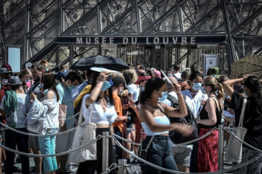 Paris maque canicule