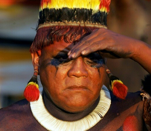aritana deces chef indigene bresil covid-19