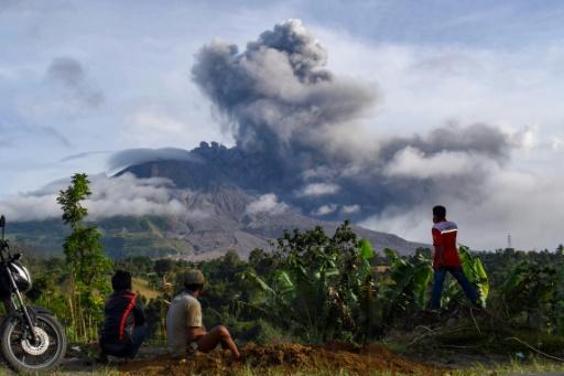 Indonésie volcan
