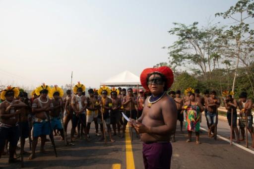 barrage peuples indigènes brésil