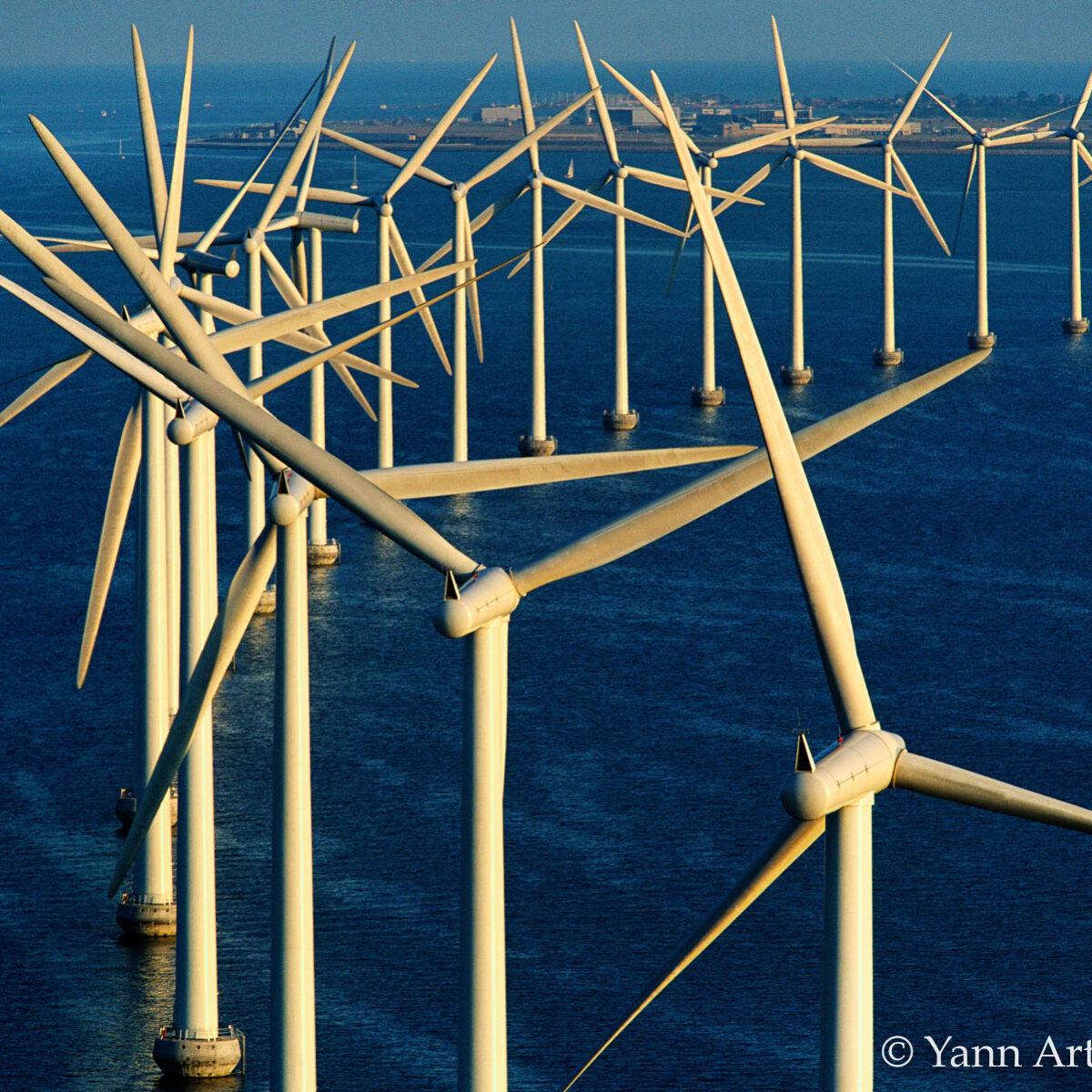 éoliennes offshore Danemark