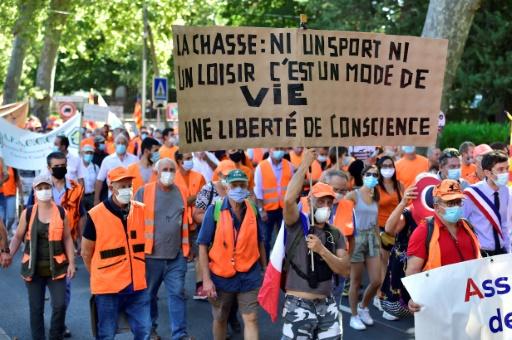 chasse à la glu manifestation France