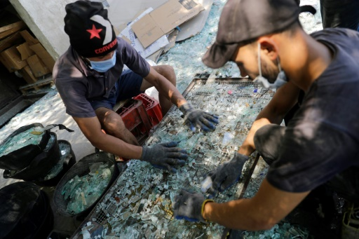 explosion Liban recyclage