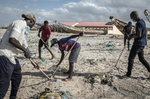 Sénégal dépollution plages