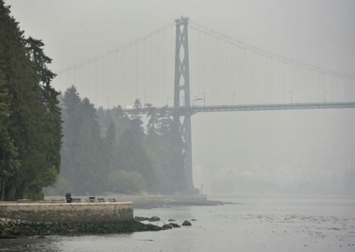 Vancouver fumée incendies