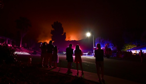 Californie incendies