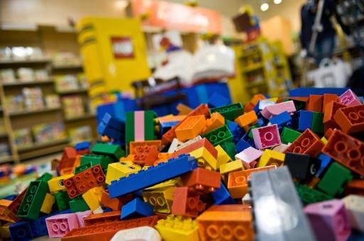 lego plastique