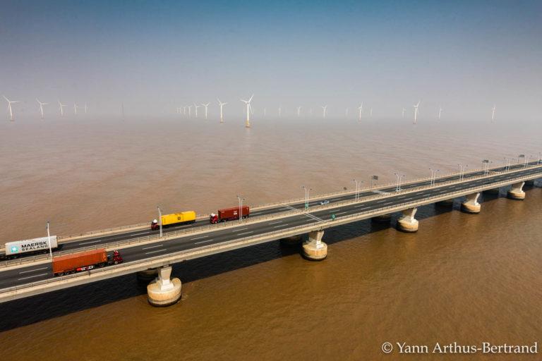 pont éoliennes YAB Chine